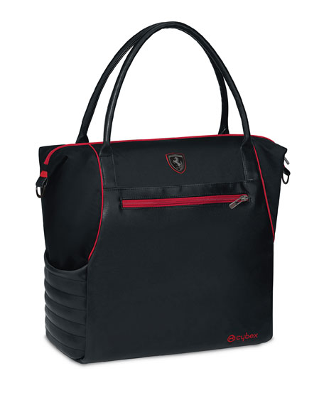Cybex Ferrari Diaper Changing Bag, Black