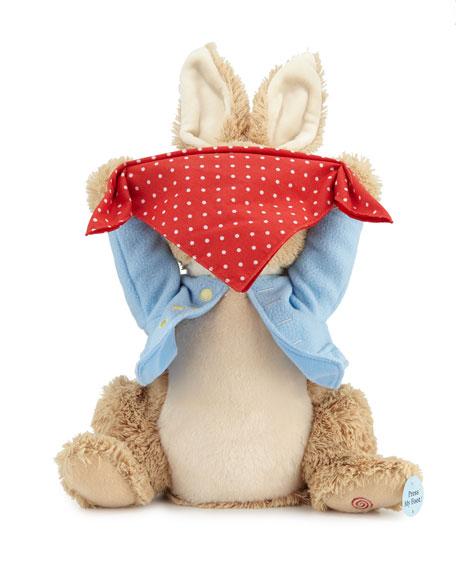 Gund Peek-A-Boo Peter Rabbit