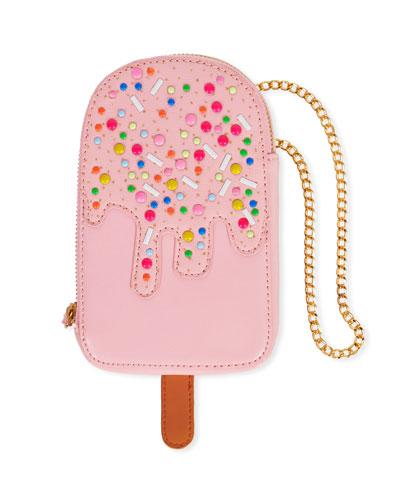 Girls' Ice Cream w/ Sprinkles Crossbody Bag
