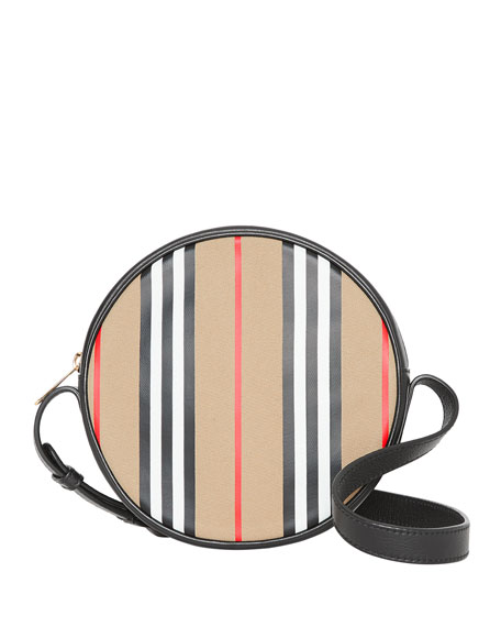 Burberry Kids' Icon Stripe Crossbody Bag