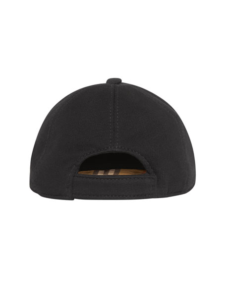 Burberry Kids' Logo Embroidered Baseball Cap