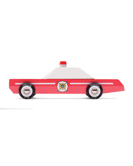 Candylab Toys Fire Chief Car Toy