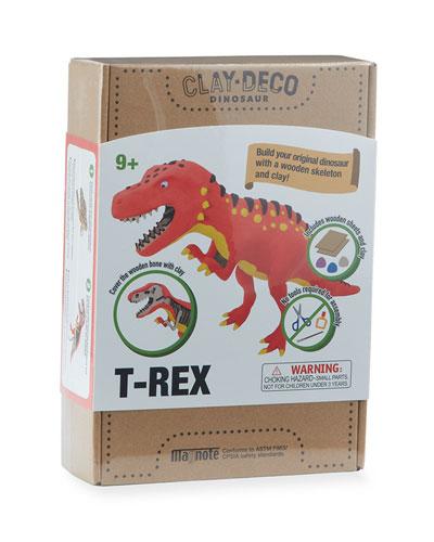 CLAY DECO Dinosaur T-Rex