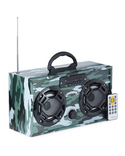 Kids' Retro Mini Boombox - Camo