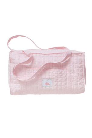 Little English Girl's Quilted Luggage