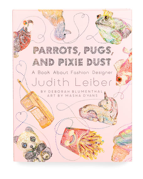 Little Bee Books Parrots, Pugs, and Pixie Dust: A Book About Fashion Designer Judith Leiber