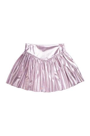 Imoga Heather Pleated Skirt, Size 8-14