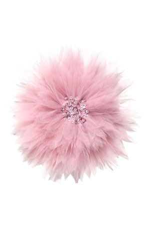 Tutu Du Monde Girl's Dandelion Wishes Sequin Tulle Hair Clip