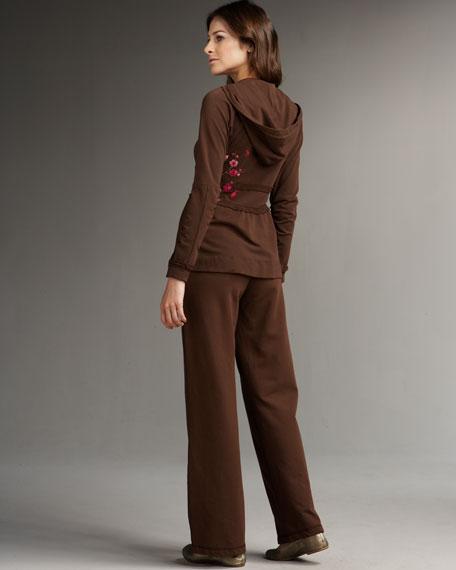 Sabrina Embroidered Hoodie, Women's