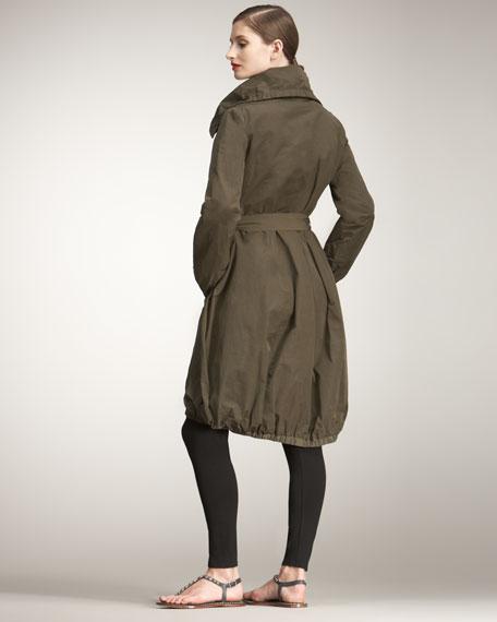 Long Bubble Coat, Women's