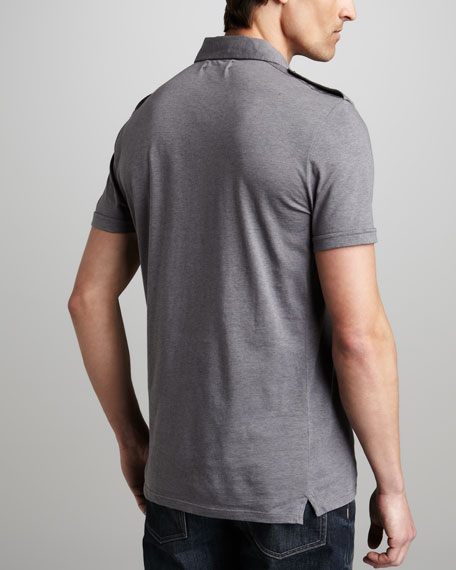 Jersey Military Polo, Pumice