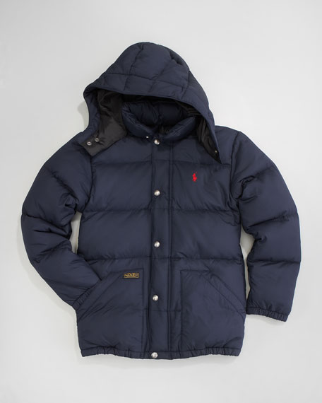 Elmwood Down Puffer, Sizes 2-7