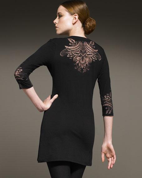 Tattoo-Knit Dress