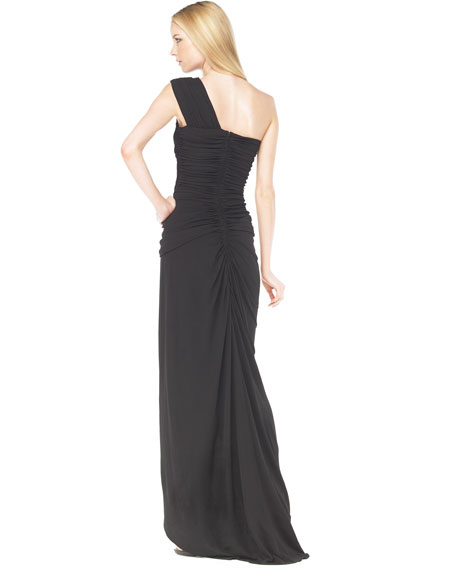 Draped Goddess Gown