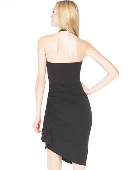 Leather-Neck Dress