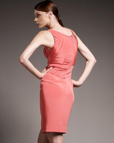 Seamed-Waist Dress