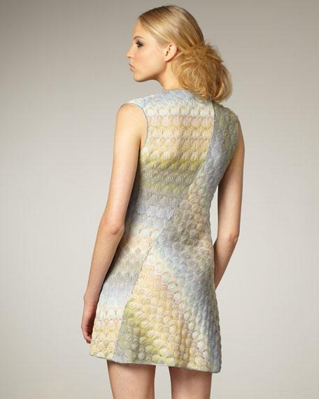 Sybil Cap-Sleeve Dress