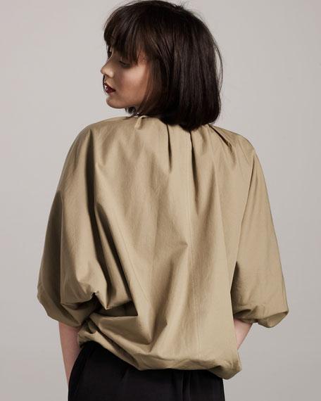 Reversible Cropped Jacket