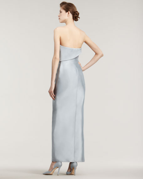 Double-Face Silk Gown