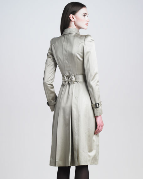 Sateen Trenchcoat