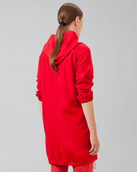 Long-Sleeve Hooded Anorak