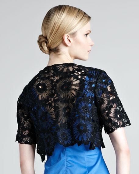 Lace Embroidered Bolero