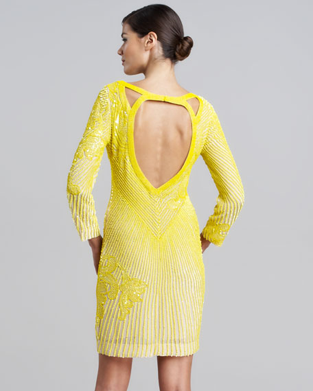 Allover Beaded Dress