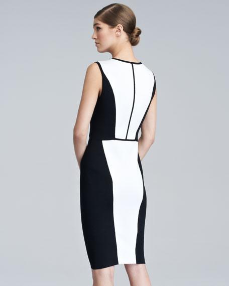 Contour Colorblock Knit Dress