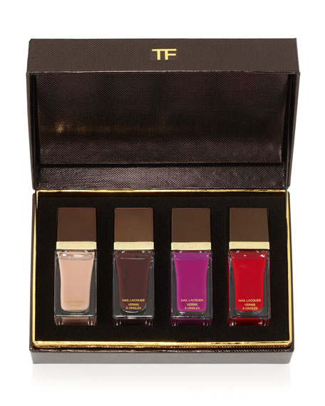 Tom Ford Beauty 4 Piece Nail Lacquer Boxed Gift Set