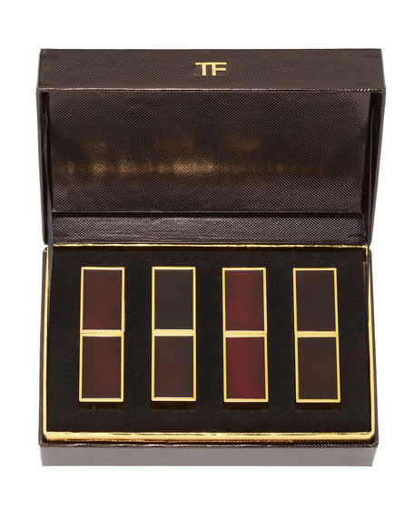 Tom Ford Beauty 4 Piece Lip Color Boxed Gift Set