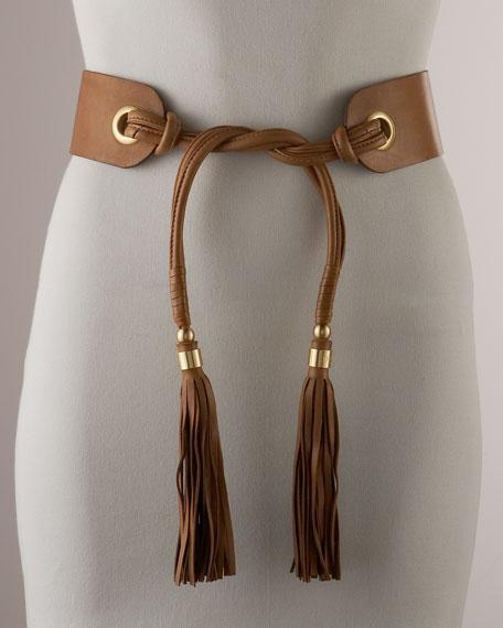 Julie Tassel-Tie Contour Belt