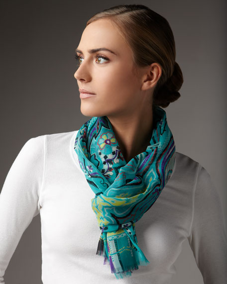 Paisley Silk Stole