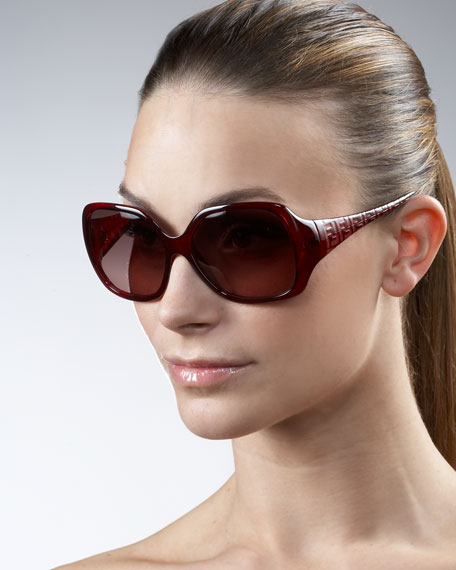 Oversize FF-Arm Sunglasses