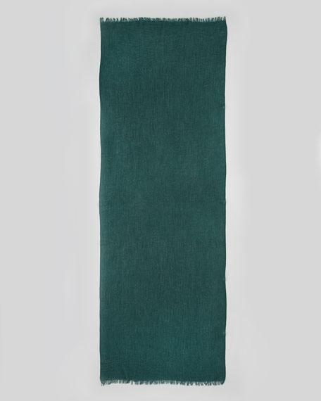 Ultra Lightweight Cashmere Stole, Emerald