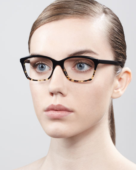 Racine Fashion Glasses, Black/Tortoise