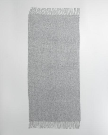 Cashmere Stole, Fog Gray