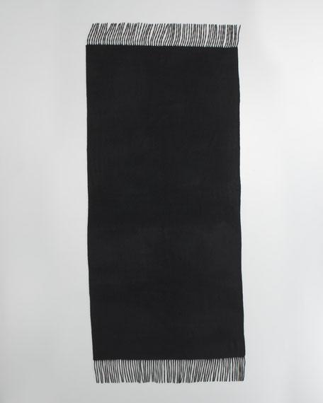 Cashmere Stole, Black