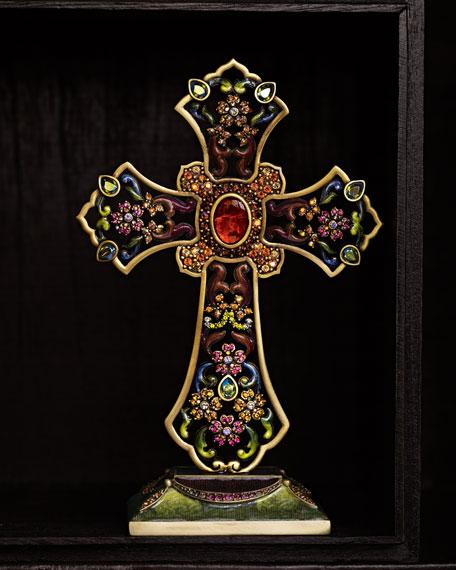 Dawson Floral Cross Objet