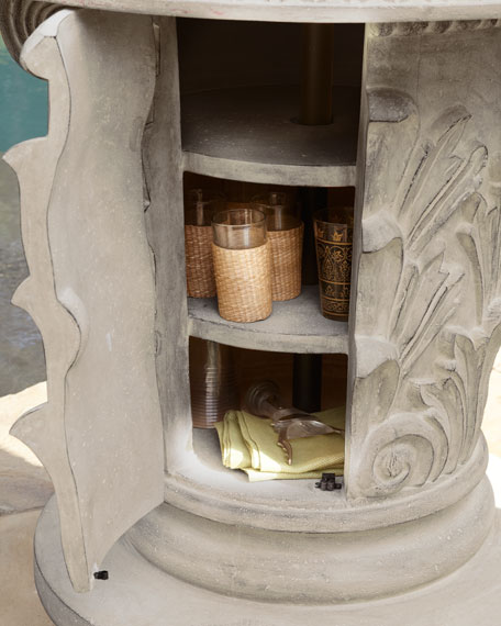 Ornate Drink Stand