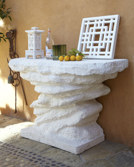 """""""White Rock"""" Outdoor Table"""