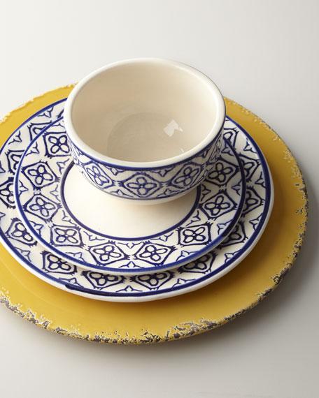 12-Piece Tile-Border Dinnerware
