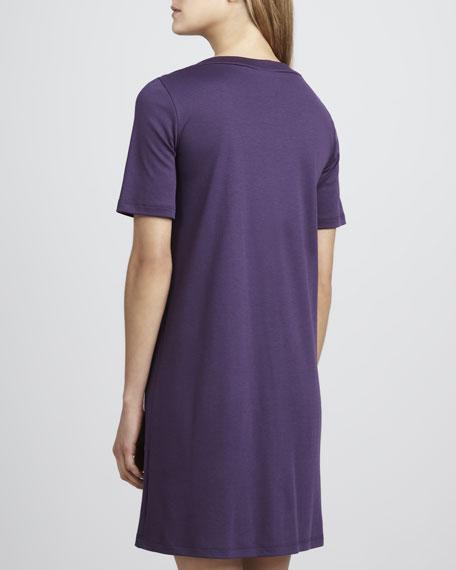 Jasmine Short-Sleeve Gown