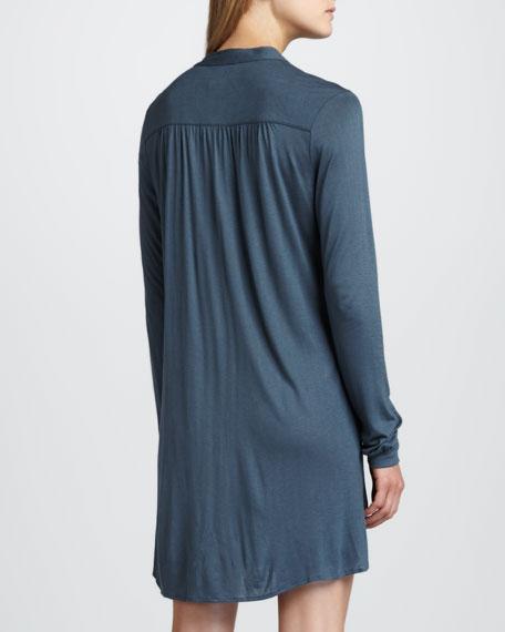 Pintuck Jersey Sleepshirt