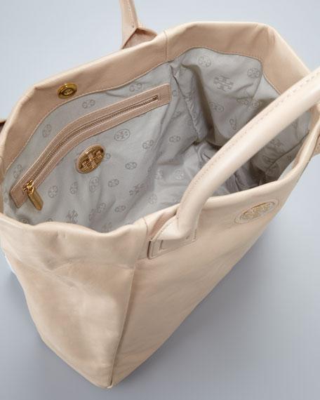 City Tote Bag, Mid Camel