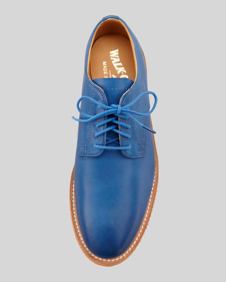 Chase Leather Derby, Blue/Orange