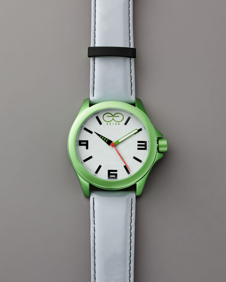 Aluminum Watch, Green