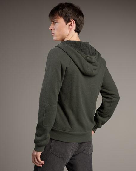 Fleece-Lined Zip Hoodie