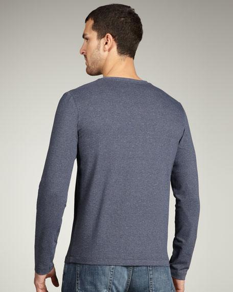 V-Neck Medusa Sweater, Slate