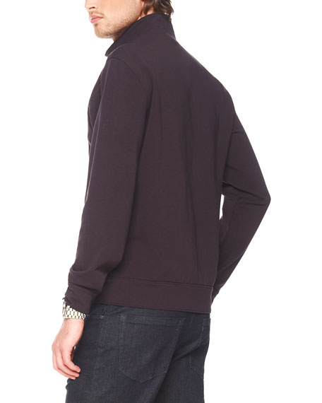 Stretch Fleece Jacket, Black