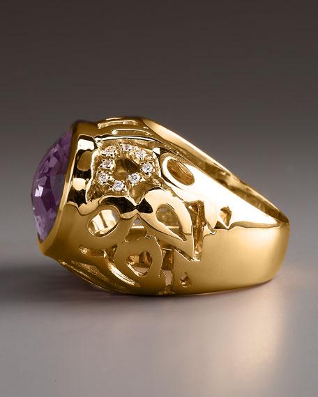 Amethyst Mauresque Ring